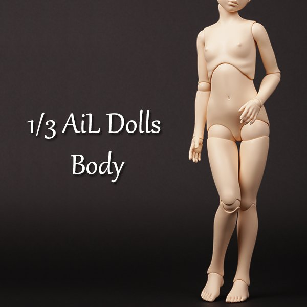 Photo1: AiL Dolls Body - Assembled